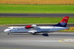 ちっとろむさんが、ウィーン国際空港で撮影したエア・セルビア ATR-72-500 (ATR-72-212A)の航空フォト(飛行機 写真・画像)