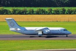 ちっとろむさんが、ウィーン国際空港で撮影したブリュッセル航空 BAe-146-300の航空フォト(飛行機 写真・画像)