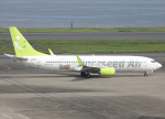 voyagerさんが、羽田空港で撮影したソラシド エア 737-86Nの航空フォト(飛行機 写真・画像)