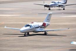 md11jbirdさんが、名古屋飛行場で撮影したグラフィック 525A Citation CJ1の航空フォト(飛行機 写真・画像)
