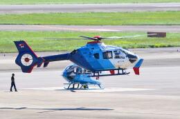 md11jbirdさんが、名古屋飛行場で撮影した中日新聞社 EC135P2の航空フォト(飛行機 写真・画像)