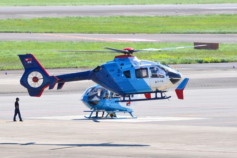 md11jbirdさんの中日新聞社 Eurocopter EC135/635 (JA03CP) 航空フォト