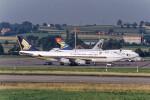 Airliners Freakさんが、チューリッヒ空港で撮影したシンガポール航空 747-412の航空フォト(飛行機 写真・画像)