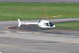 md11jbirdさんが、名古屋飛行場で撮影した雄飛航空 505 Jet Ranger Xの航空フォト(飛行機 写真・画像)