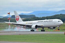 ながえいさんが、旭川空港で撮影した日本航空 767-346/ERの航空フォト(飛行機 写真・画像)