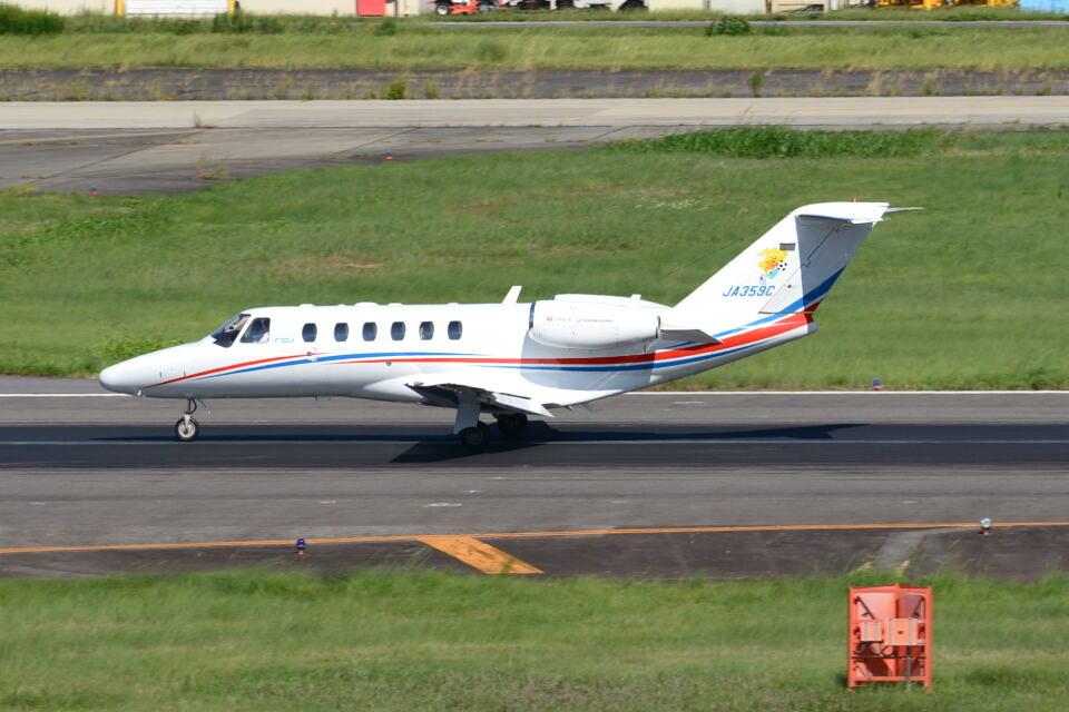 md11jbirdさんの静岡エアコミュータ Cessna 525 CitationJet (JA359C) 航空フォト
