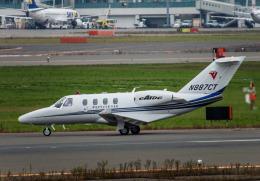 Cygnus00さんが、新千歳空港で撮影したTEXTRON AVIATION INC  Citation M2/CJの航空フォト(飛行機 写真・画像)