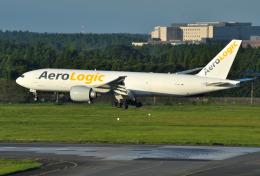 mojioさんが、成田国際空港で撮影したアエロ・ロジック 777-FZNの航空フォト(飛行機 写真・画像)