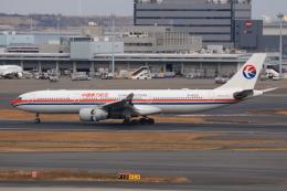 やつはしさんが、羽田空港で撮影した中国東方航空 A330-343Xの航空フォト(飛行機 写真・画像)
