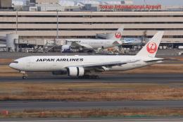 やつはしさんが、羽田空港で撮影した日本航空 777-289の航空フォト(飛行機 写真・画像)