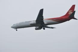 macbroothさんが、済南遥墻国際空港で撮影した深圳航空 737-97Lの航空フォト(飛行機 写真・画像)