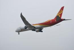 macbroothさんが、済南遥墻国際空港で撮影した金鵬航空 787-9の航空フォト(飛行機 写真・画像)
