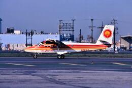 パール大山さんが、ロサンゼルス国際空港で撮影したGolden West Airlines DHC-6-200 Twin Otterの航空フォト(飛行機 写真・画像)