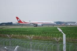 macbroothさんが、済南遥墻国際空港で撮影した四川航空 A350-941の航空フォト(飛行機 写真・画像)