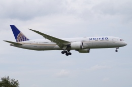 pesawat6さんが、成田国際空港で撮影したユナイテッド航空 787-9の航空フォト(飛行機 写真・画像)