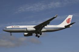 Sharp Fukudaさんが、成田国際空港で撮影した中国国際航空 A330-243の航空フォト(飛行機 写真・画像)