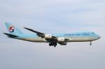 pesawat6さんが、成田国際空港で撮影した大韓航空 747-8B5F/SCDの航空フォト(飛行機 写真・画像)