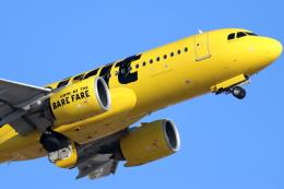 キャスバルさんが、フェニックス・スカイハーバー国際空港で撮影したスピリット航空 A320-271Nの航空フォト(飛行機 写真・画像)