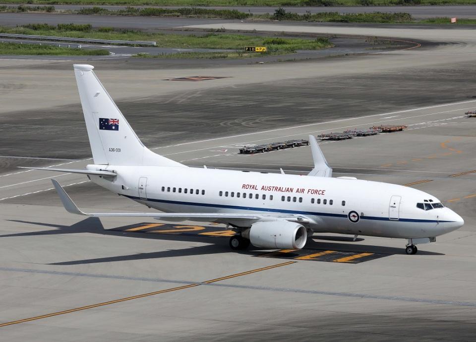 voyagerさんのオーストラリア空軍 Boeing 737-700 (A36-001) 航空フォト