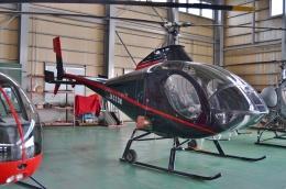 ブルーさんさんが、大阪ヘリポートで撮影した小川航空 269D-A (333)の航空フォト(飛行機 写真・画像)
