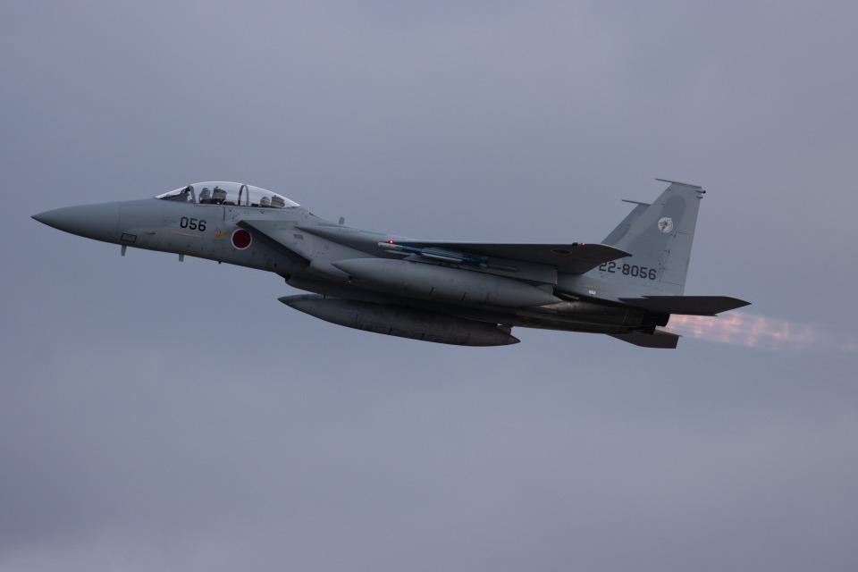 チャッピー・シミズさんの航空自衛隊 McDonnell Douglas F-15DJ Eagle (22-8056) 航空フォト