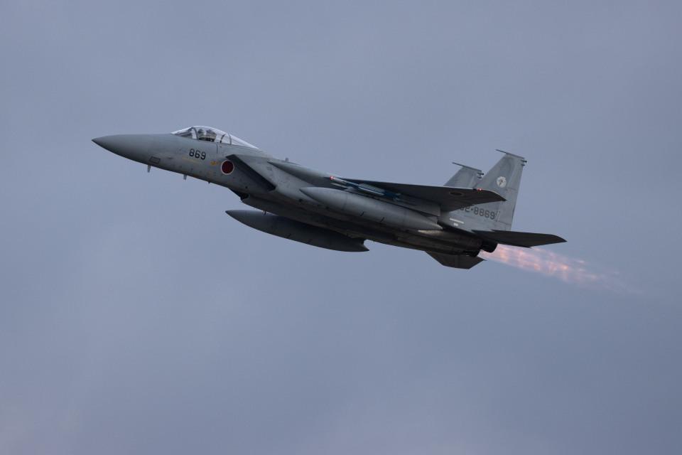 チャッピー・シミズさんの航空自衛隊 Mitsubishi F-15J Eagle (62-8869) 航空フォト