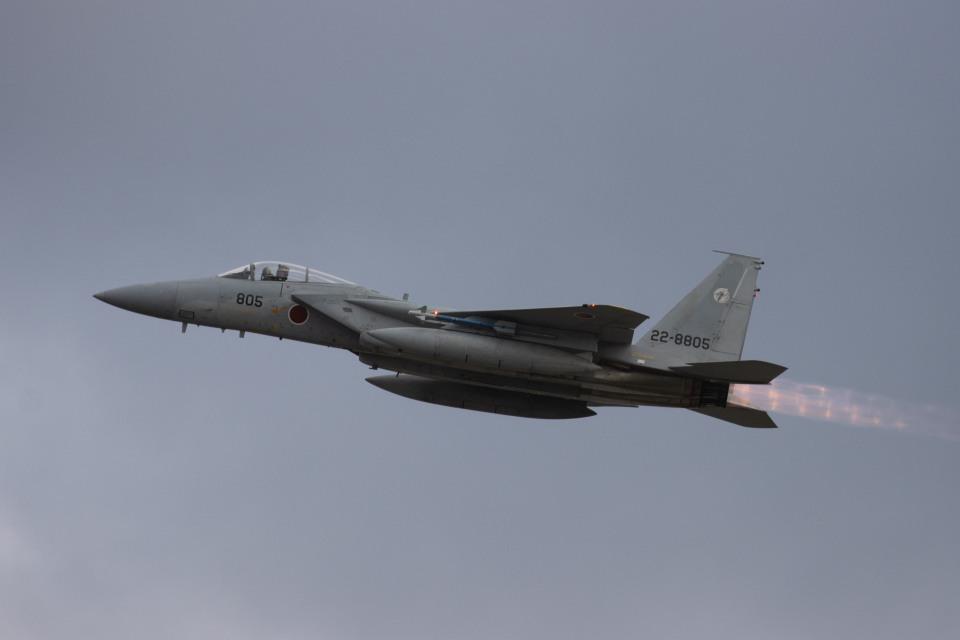 チャッピー・シミズさんの航空自衛隊 Mitsubishi F-15J Eagle (22-8805) 航空フォト