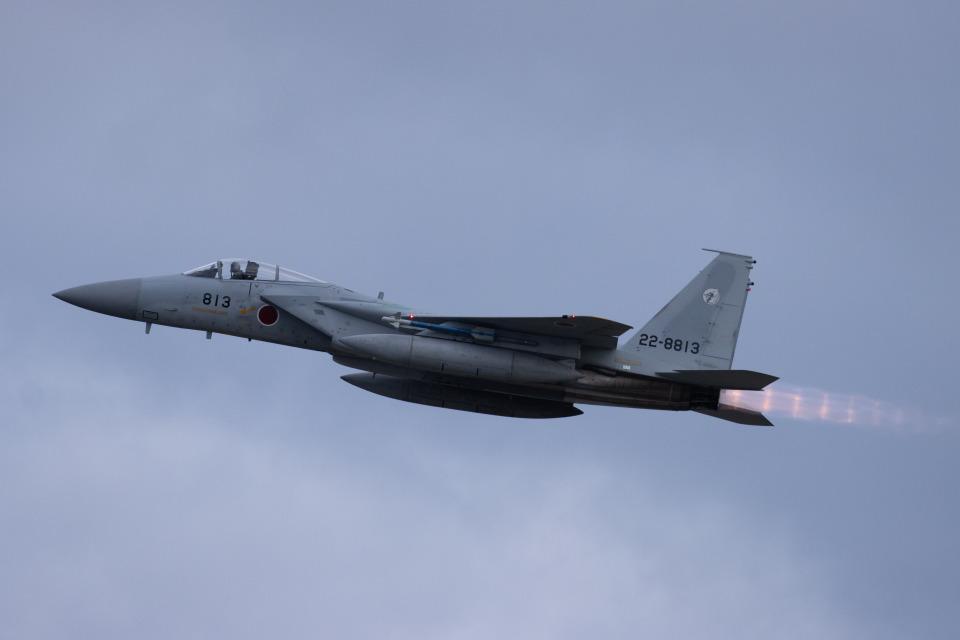 チャッピー・シミズさんの航空自衛隊 Mitsubishi F-15J Eagle (22-8813) 航空フォト