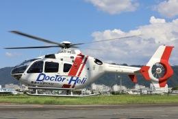 Hii82さんが、八尾空港で撮影した学校法人ヒラタ学園 航空事業本部 EC135P2+の航空フォト(飛行機 写真・画像)