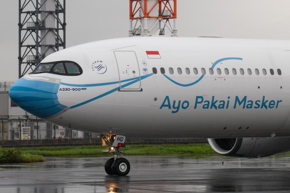 kuraykiさんのガルーダ・インドネシア航空 Airbus A330-900 (PK-GHG) 航空フォト