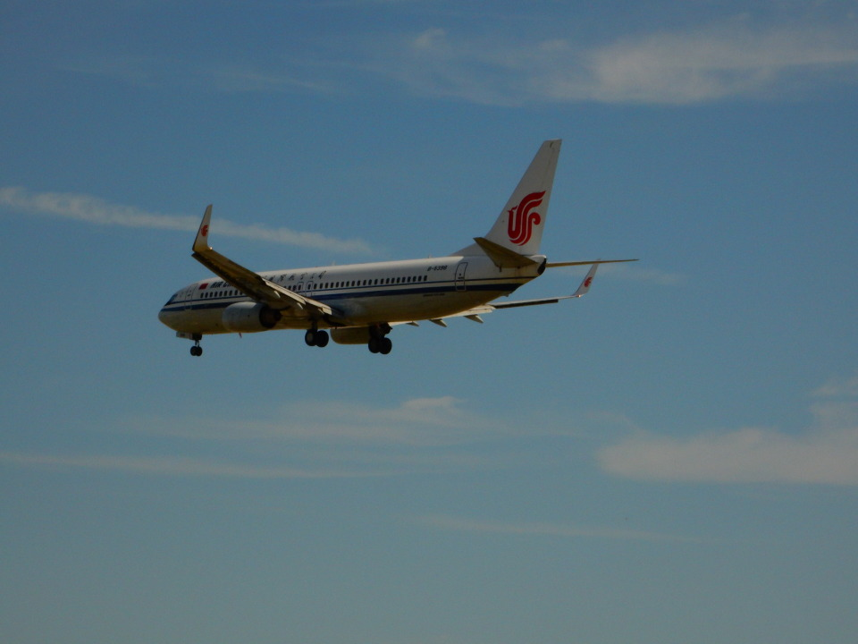 kiyohsさんの中国国際航空 Boeing 737-800 (B-5398) 航空フォト