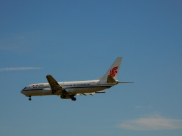 kiyohsさんが、北京首都国際空港で撮影した中国国際航空 737-86Nの航空フォト(飛行機 写真・画像)