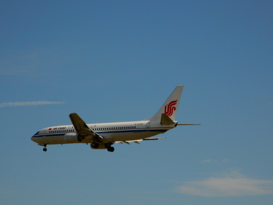 kiyohsさんの中国国際航空 Boeing 737-800 (B-5328) 航空フォト