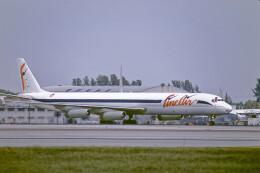 Airliners Freakさんが、マイアミ国際空港で撮影したファイン・エア・サービシーズ DC-8-63(F)の航空フォト(飛行機 写真・画像)