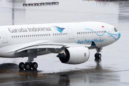 すしねこさんが、羽田空港で撮影したガルーダ・インドネシア航空 A330-941の航空フォト(飛行機 写真・画像)