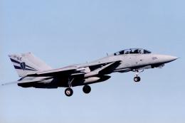 banshee02さんが、厚木飛行場で撮影したアメリカ海軍 F-14A Tomcatの航空フォト(飛行機 写真・画像)