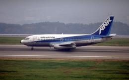 LEVEL789さんが、岡山空港で撮影したエアーニッポン 737-281の航空フォト(飛行機 写真・画像)