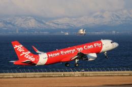 EC5Wさんが、中部国際空港で撮影したエアアジア・ジャパン A320-216の航空フォト(飛行機 写真・画像)