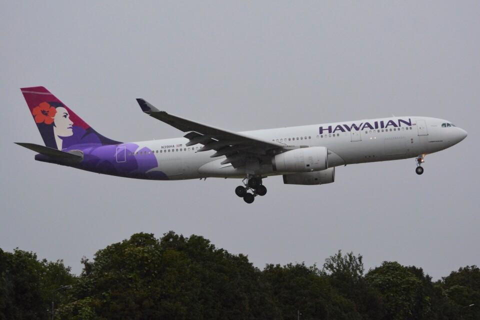 デルタおA330さんのハワイアン航空 Airbus A330-200 (N391HA) 航空フォト