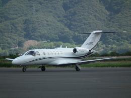 ヒコーキグモさんが、岡南飛行場で撮影したオートパンサー 525A Citation CJ2の航空フォト(飛行機 写真・画像)