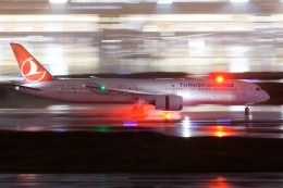 多摩川崎2Kさんが、羽田空港で撮影したターキッシュ・エアラインズ 787-9の航空フォト(飛行機 写真・画像)