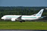 mojioさんが、成田国際空港で撮影したZIPAIR 787-8 Dreamlinerの航空フォト(飛行機 写真・画像)