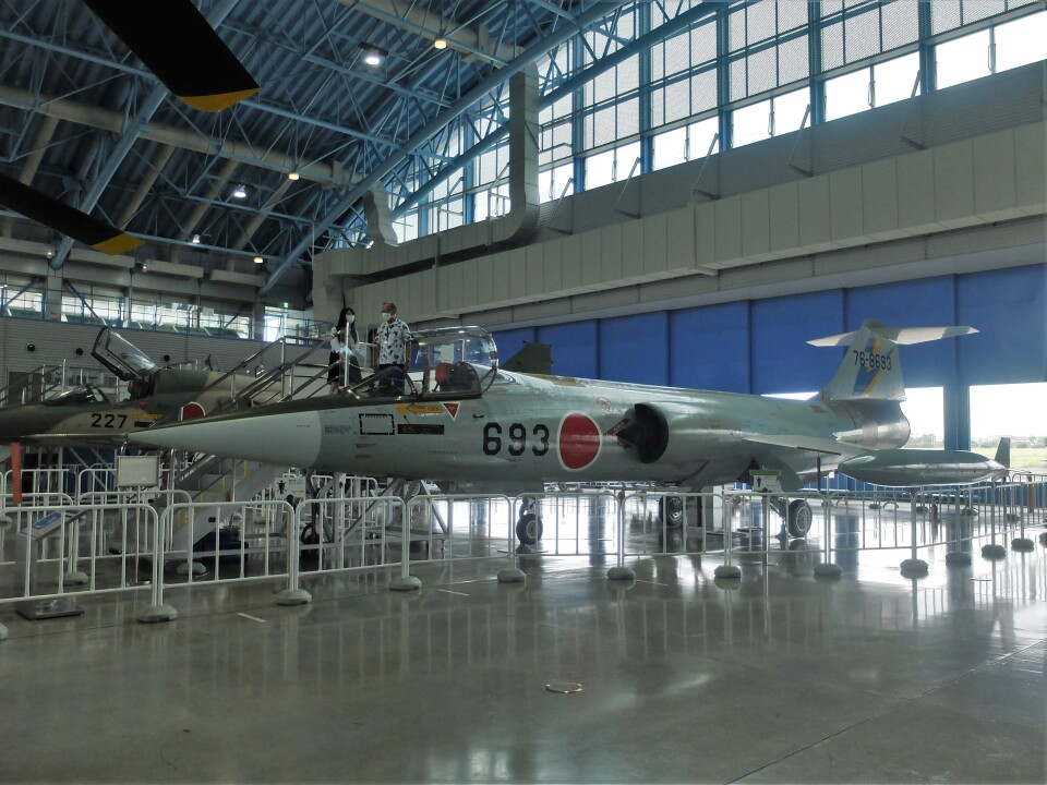 Smyth Newmanさんの航空自衛隊 Mitsubishi F-104 (76-8693) 航空フォト