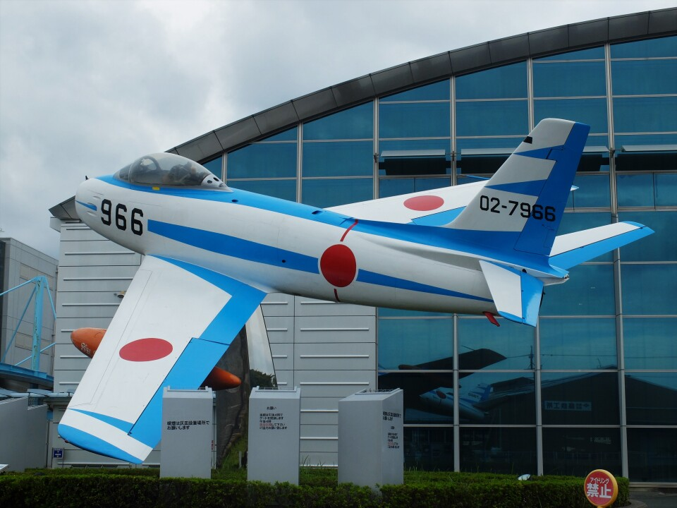 Smyth Newmanさんの航空自衛隊 Mitsubishi F-86 Sabre  (02-7966) 航空フォト