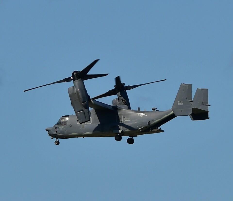 かたつむりくんさんのアメリカ空軍 Bell Boeing V-22 (13-0069) 航空フォト