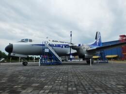 かかみがはら航空宇宙博物館で撮影されたエアーニッポン - Air Nippon [EL/ANK]の航空機写真