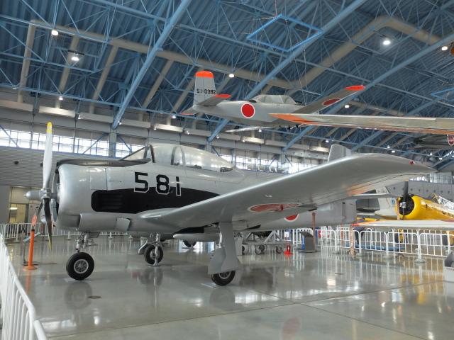 Smyth Newmanさんが、浜松広報館で撮影した航空自衛隊 T-28B Trojanの航空フォト(飛行機 写真・画像)