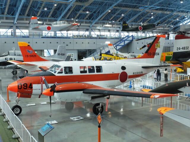Smyth Newmanさんが、浜松広報館で撮影した航空自衛隊 B65 Queen Airの航空フォト(飛行機 写真・画像)