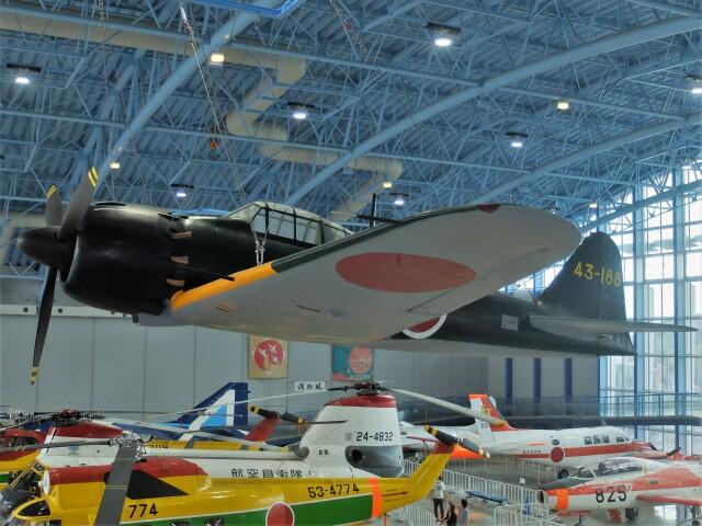 Smyth Newmanさんが、浜松広報館で撮影した日本海軍 Zero 52 Kou/A6M5aの航空フォト(飛行機 写真・画像)
