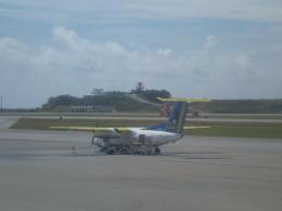 double_licenseさんが、那覇空港で撮影した琉球エアーコミューター DHC-8-103Q Dash 8の航空フォト(飛行機 写真・画像)